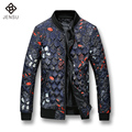 Men Warm Coats 2016 Winter Men Thick Coats Fashion Designed Printed Men Winter Casual Outwears Windproof Men Plus 5XL Jackets