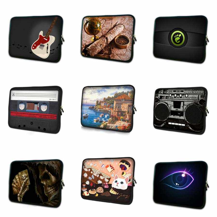 プリントゼブラノートブックライナースリーブ 7 9.7 11.6 13.3 14 15.6 17.3 インチ Ultrabook 保護ケースラップトップバッグ Pc タブレットカバー NS-3382