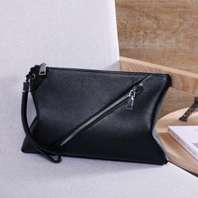 Business Genuine Leather Clutch Bag Men Fashion Handbags for men iPad Day