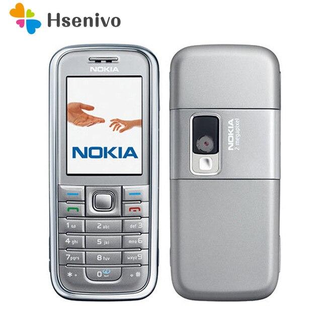 6233 Original Nokia 6233 Celular Mobile Phone 3g Camera Bluetooth MP3 Origianl Desbloqueado frete grátis