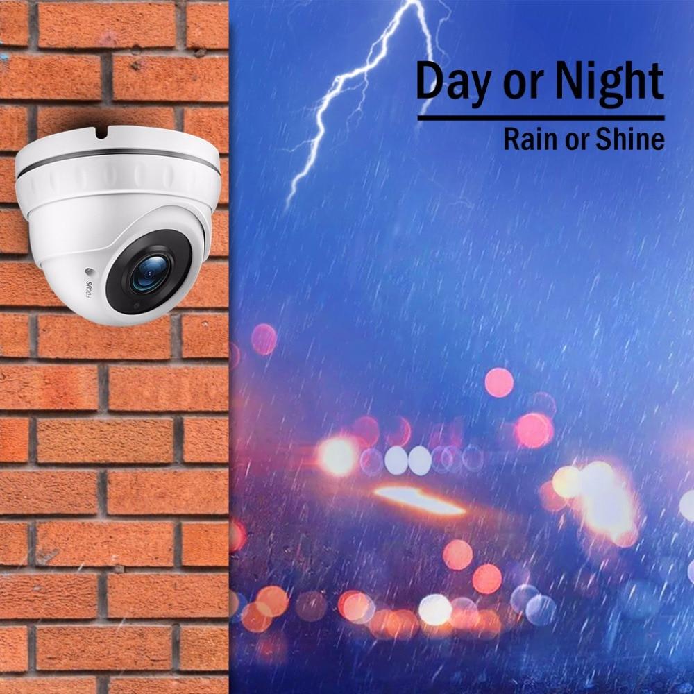 Tmezon HD 8CH 1080 p DVR 8 stücke 1200TVL 720 p Dome Kamera Home Security Surveillance System P2P Remote View durch Telefon 1 tb 2 tb Kit
