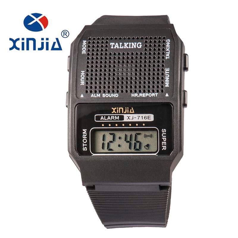 eda84b7cecc Simples Homens E Mulheres Falando Relógio para Cegos Falar Russo Eletrônico  Digital Sports relógio de Pulso Casual mais velho em Relógios digitais de  ...