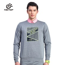 Autumn Winter Outdoor Pullovers Sweatshirts O-neck Long Sleeve Anti-static Hiking T-shirt Fitness Running Camping Sport Jerseyes