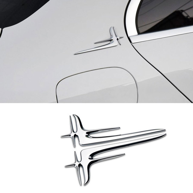 Universal Rear Side Molding Decorative Strips Trim for Mercedes Benz C E Class W205 W212 2014 2015 2016 2017 Car Accessories