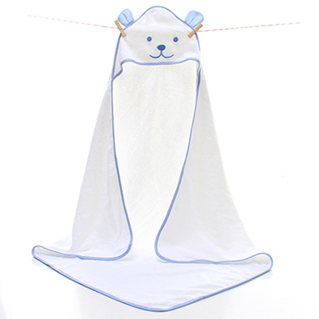 Baby Cotton Hooded Towel Animal Children Toallas Para Bebes Con Capucha Baby Children Hooded Bath Towels Kids For Babies 60A054