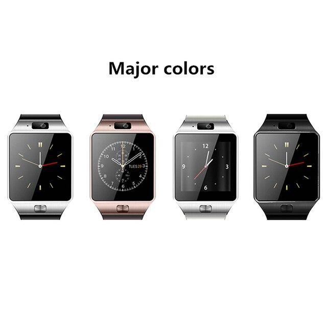 ca7d1ae6686 Kebidu DZ09 Smartwatch Para Android Relógio Do Telefone Da Maçã Do Bluetooth  Relógios Inteligentes de Apoio