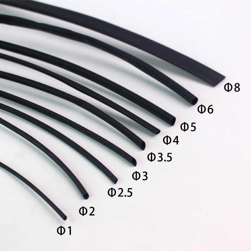 1 メートル/ロット熱収縮チューブ 1 ミリメートル 2 ミリメートル 2.5 ミリメートル 3 ミリメートル 3.5 ミリメートル 4 ミリメートル 5 ミリメートル 6 ミリメートル 8 ミリメートル 10 ミリメートル 12 ミリメートル熱収縮チューブ収縮ラップワイヤーケーブルスリーブ