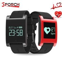 DM68 смарт-браслет Band Android IOS крови Давление монитор сердечного ритма браслет удаленного Камера калорий смарт-Группа фитнес-часы