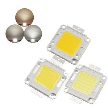 цена на 20W 30W 50W 100W High Power led Cob chip Epistar Genesis High lumen Ra 80 LED COB Light Source cob led bulb lamp for flood light