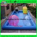 Надувные гидромассажная ванна бесконечный бассейн, intex бассейны в коммерческих площадка
