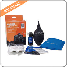 7 IN 1 SLR DSLR Camera Lens Cleaning Kit For Canon EOS 700D 500D 300D 400D Digital Camera Lens Screen Cleaning