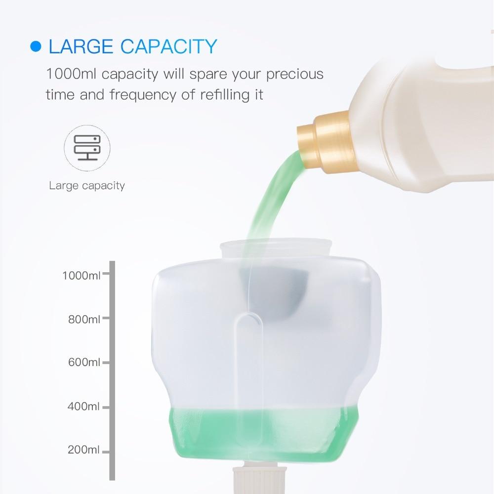 Bathroom Automatic Foam Soap Dispenser 1000ml Wall Mounted Built-in Infrared Smart Sensor Shower Shampoo Foam Soap Dispenser