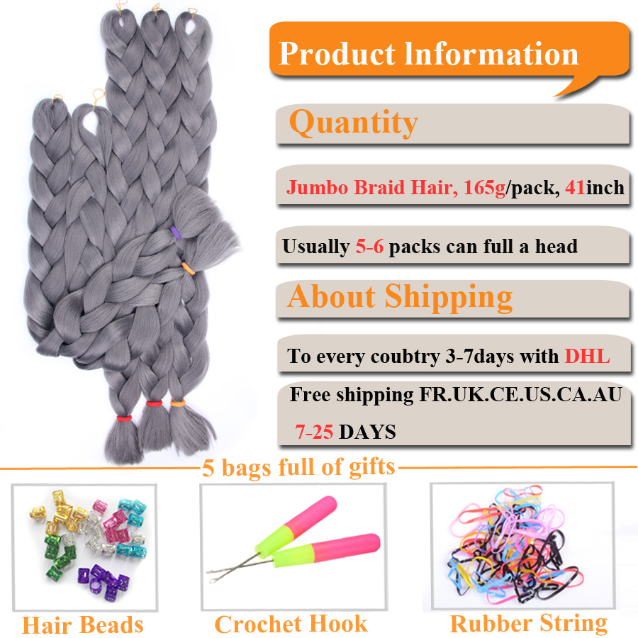China hair extension gray Suppliers