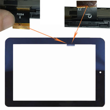 цены F0264X New Touch Screen For Nextbook 8 Dual Core NX008HD8G F0264 XDY 198x150mm Have a border Black