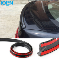 1 5M PC Car Styling Head Tail Safety Protector Anti Collision Strip Car Sticker For Toyota