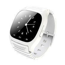 New Sport Smart Uhr Wasserdichte Smartwatch M26 Bluetooth Mit Zifferblatt SMS Erinnern Pedometer Für Apple IOS Android Smartphone