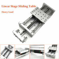 X Y Z Axis Sliding Table Cross Slide SFU1605 Ballscrew Linear Stage Motion Actuator Heavy Load for CNC DIY Milling Drilling