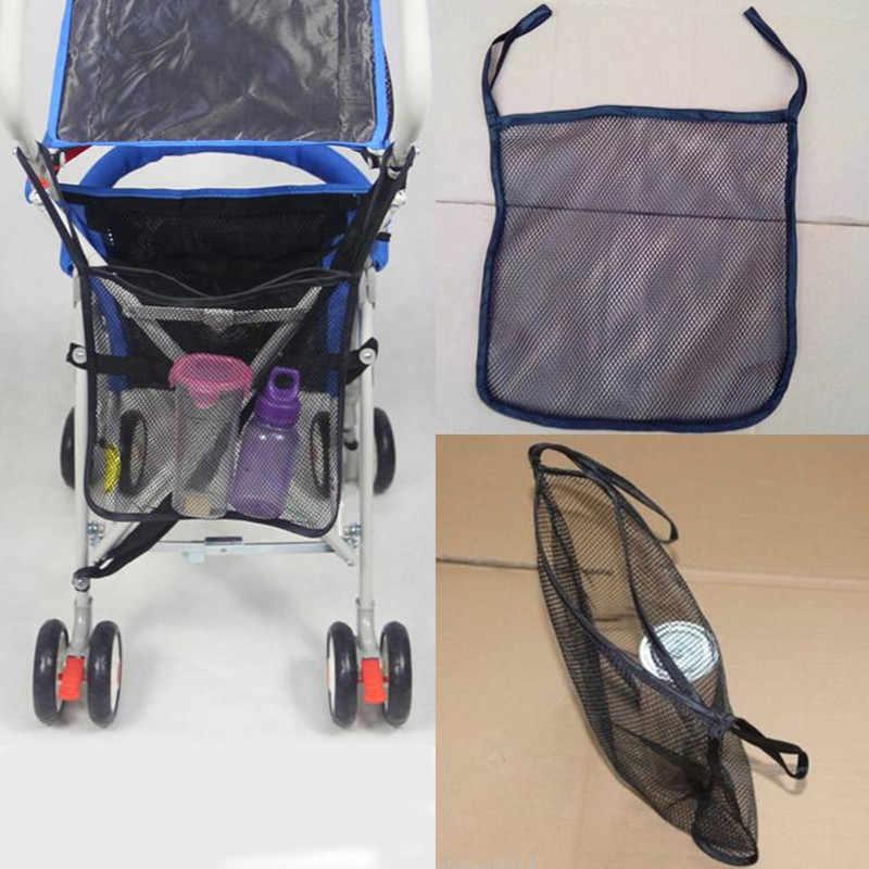 ใหม่แฟชั่น Mummy ผ้าอ้อมเด็กตาข่ายกระเป๋าคลอดบุตรฉนวนกันความร้อนถุงนมขวดน้ำกระเป๋ารถเข็นเด็กทารกกระเป๋าพกพา
