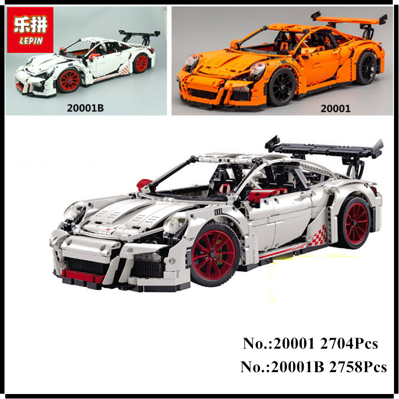 LEPIN 20001 20001B 2704PCS 20086 4031Pcs Technic Series Car Model Building Kits Blocks Bricks Compatible 42083 42056 Toy Gift high transparent acrylic display box model cover customized toy dustproof box legoingly technic 42056 20001 20001b car