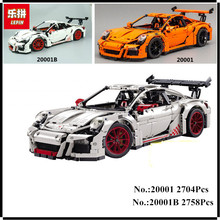 LEPIN 20001 20001B 2704PCS Technic Series DIY Model Building Kits Blocks Bricks Compatible With 42056 Boy's Toy Educational Gift(China)