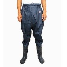Для мужчин и женщин; эластичная резинка на талии; спортивные непромокаемые брюки; обувь для рыбалки; водонепроницаемая обувь; ботинки; рисовые; резиновые