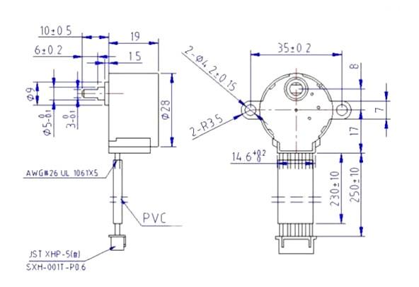 Gear Stepper Motor