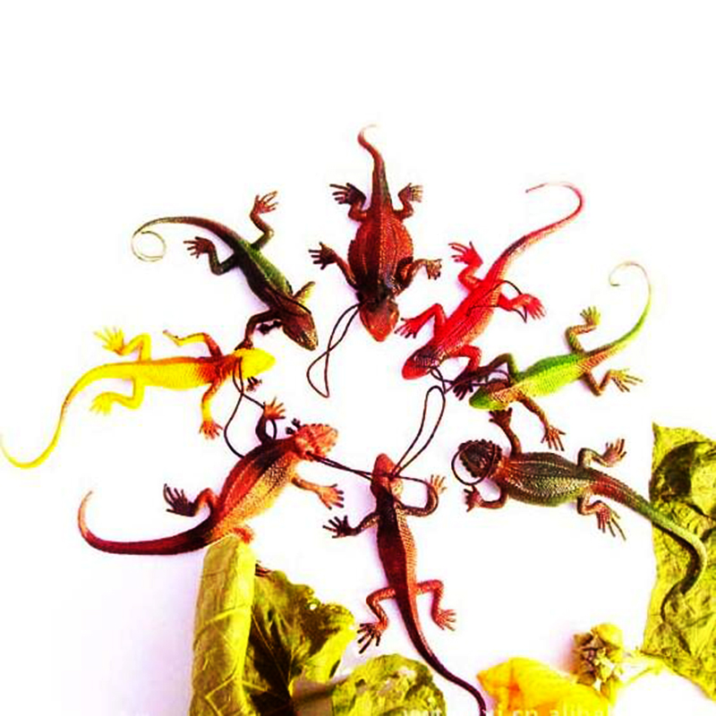 15cm Tricks Toy Replica Lizard lacertid Lifelike model Halloween Prank Hoax Joke Party Property Scare Comedy