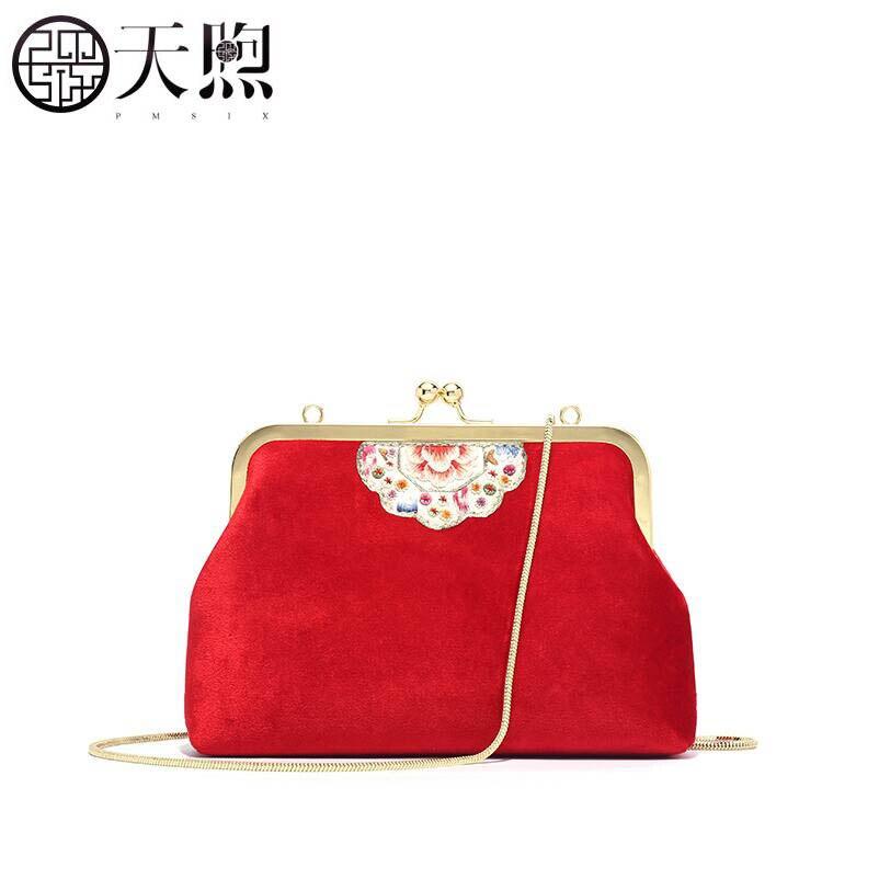 Pmsix 2019 nouvelles femmes sacs marque velours matériel qualité femmes en cuir sacs à main mode chaîne femmes en cuir sac à bandoulière