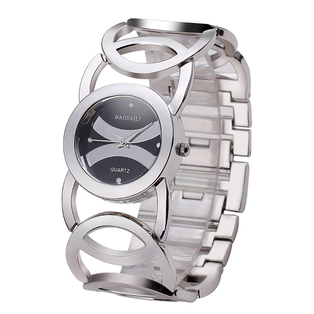 Damesmode casual elegante stalen band horloge waterdicht quartz - Dameshorloges - Foto 4