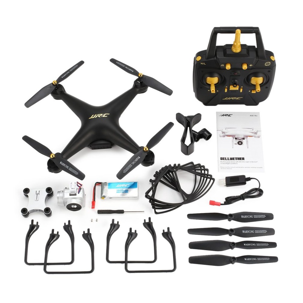 JJR/C H68 RC Drone 2.4G FPV Quadcopter with 720P HD Camera Altitude Hold Headless Mode 3D-Flip 20mins Long Flight RC Helicopters jjrc h68 rc drone with 720p hd camera 2 4g fpv rc quadcopter drone altitude outdoor hold headless mode 3d flip 20mins fly time