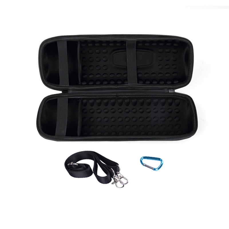New 2 in 1 EVA Hard Carry Zipper Storage Box Bag+ Silicone Cover Case for JBL Charge 4 Bluetooth Speaker For JBL Charge4 Column