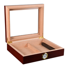 New Style Portable Cedar Wood Cigar Case Durable Top Popular Accessories Travel Cigarette Humidor Box Smoking SupplyLFB443