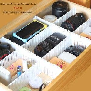 Image 5 - 送料無料フリーコンビネーション引き出しパーティション/仕上げグリッド/引き出しセパレータ/収納パーティション/プラスチックパーティション