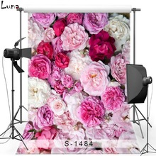 Clorful Floral Vinyl Photography Background Backdrop For Children Flower Background For Newborn photo studio Props 1484 kate dry land photography backdrops land photography background retro children custom backdrop props for newborn photo shoot