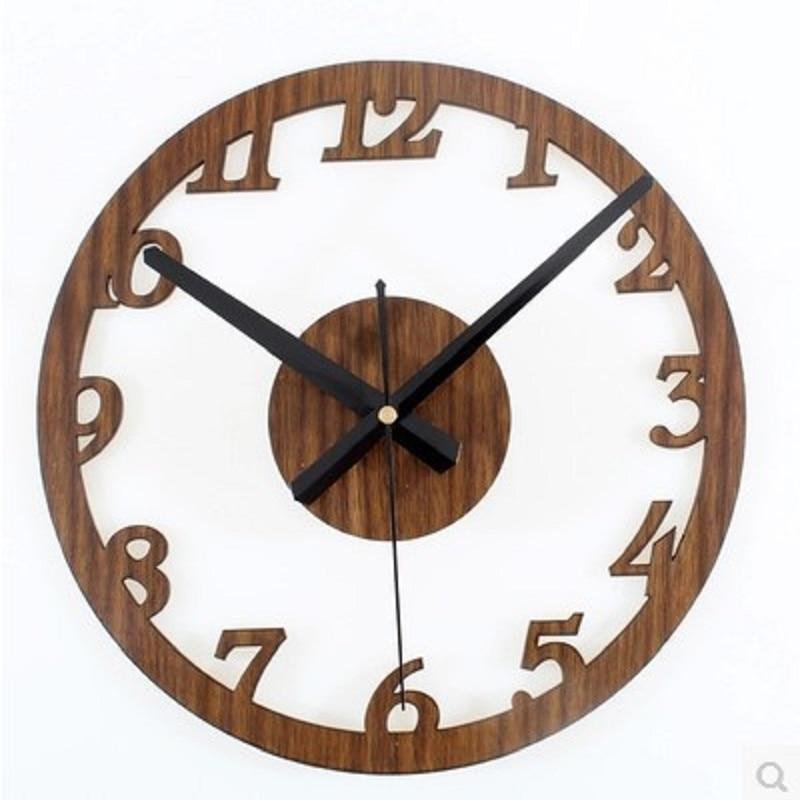 large wall clock watch reloj relogio parede wandklok wanduhr horloge murale home decor pendule murale diy