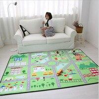 Милый ребенок игры ковер Дети тренажерный зал, играть в игры мат/коврик Детские игрушки чехол для хранения Организатор детская ванночка ант