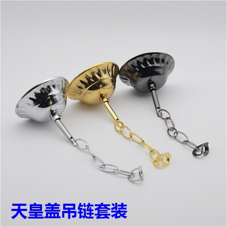 Ketten Chrom/gold Kristall Kronleuchter Hängende Kette Lagersatz Led Leuchtstoffröhre Beleuchtung Zubehör Diy
