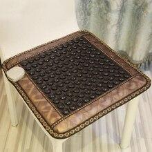 2016 Stone Germanium Stone Jade Mattress Tourmaline Heating Pad Miniature Chair Cushion New Treatments for Sale Free Shipping