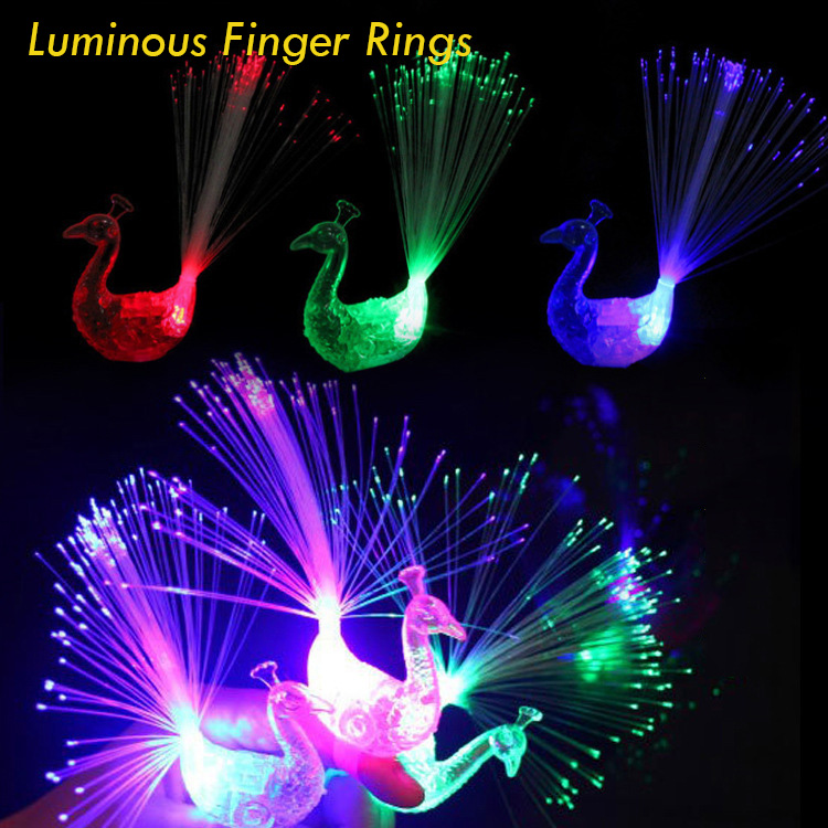 5pcs LED Wigs Glow In Dark Flash Ligth Hair Braid Clip Hairpin Kids Holiday Birthday Party Toy Gift Funny Luminous Ring Kids Toy