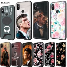 YIMAOC Peaky Blinders Zachte TPU Case voor Xiao mi rode Mi mi note max 3 6 6A 7 mi 6 mi 8 9 se a1 a2 pro Lite Gaan pocophone f1(China)
