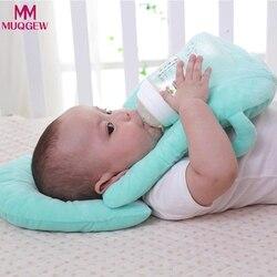 Almofadas de bebê multifuncional amamentação em camadas lavável capa ajustável modelo almofada infantil alimentação travesseiro cuidados com o bebê