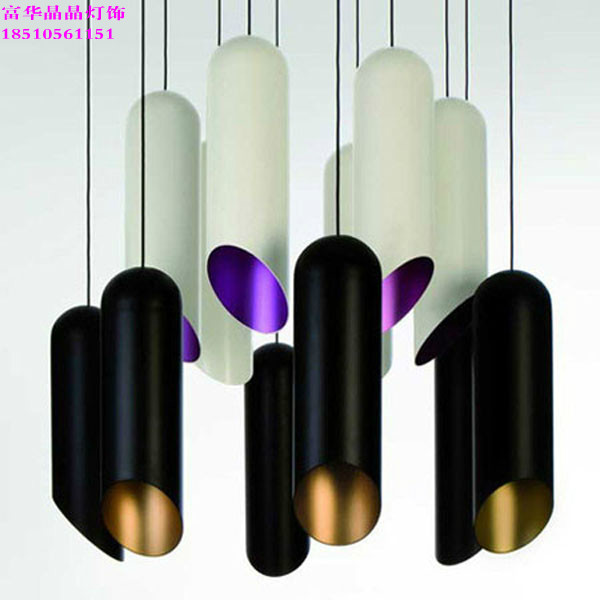 Lamps Special Offer Modern Minimalist Bamboo Manufacturer Pendant Lights Restaurant Bar Club Project Creative Design