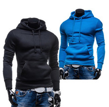 Free Shipping 2015 New Version of The Influx of Male Simple Fashion Casual Hedging Men's Clothing Hoodies Sweatshirts