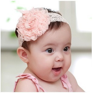20pcs Korean Lace Kids BEBETO Flower Hairbands Girls Nice Headband Baby Toddler Safe Take Photo Model Hair Accessories GiftHB143
