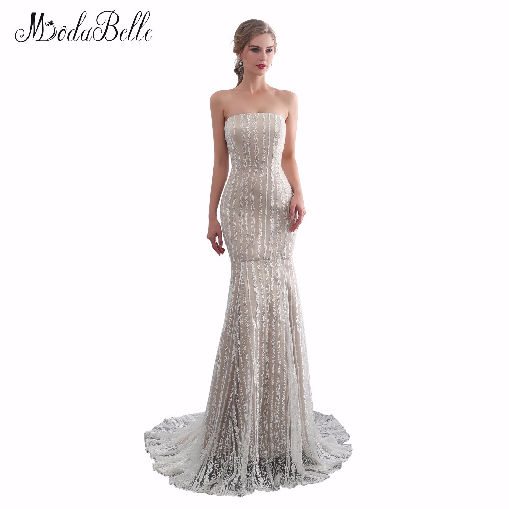 Modabelle Lace Sweetheart formal dresses 2018 vestido de novia Mermaid dress  elegant evening gown real pics factory made cheap -in Evening Dresses from  ... 3b33da054d9c