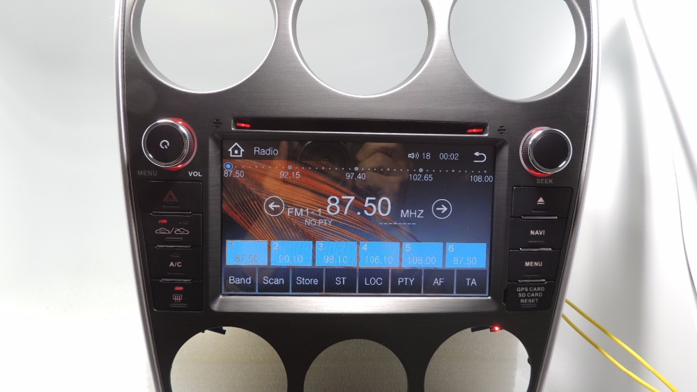 Yokotron\ \7\ Capacitive Touch Car Radio Dvd Autoradio Audio Stereo Rhaliexpress: Mazda 6 Radio No Sound At Gmaili.net