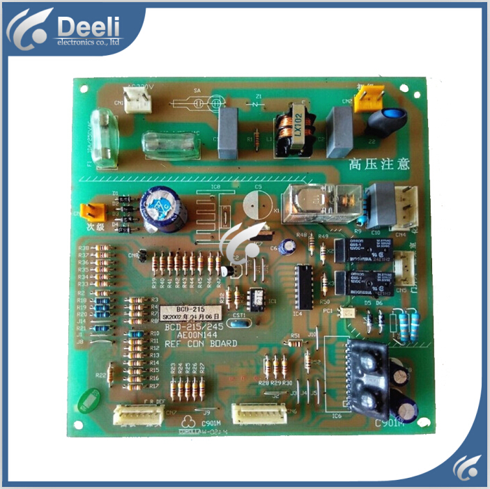 95% new used for refrigerator Computer board BCD-215 BCD-245 AE00N144 good working 95% new used for refrigerator computer board 06020085 06020103 good working