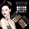 Hot Selling 15 Colors Eye Shadow Powder Professional Shimmer Matte Eyeshadow Palette Long Lasting Eyes Makeup Beauty