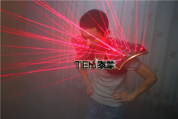 Еркін тасымалдау Red Laser Suit, LED Vest, Laser Show - Мерекелік және кешкі заттар - фото 3