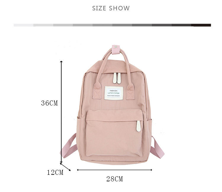 c6790f3f80 ... couple backpack belt bags candy color bags all-match bag External USB  Charge Backpack casual women backpack mochila feminina fashion youth korean  style ...